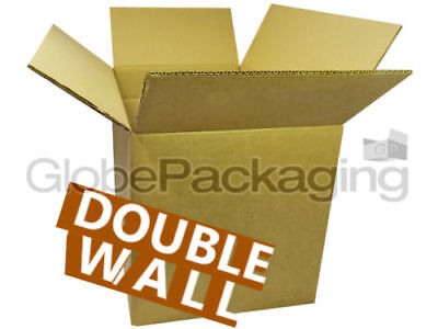 10 x STRONG CARDBOARD POSTAL REMOVAL BOXES 14x14x14