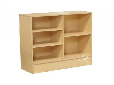 48 Wrap Counter Wood Maple Showcase Display Store Fixture Knocked Down Cw4m