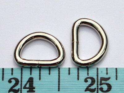 """Кольца BD08K-NL 100pcs 1/2""""x5/16""""x2.5mm NICKEL Metal"""