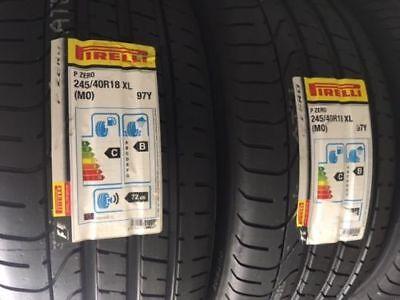2x Sommerreifen Pirelli P Zero 245/40 R18 97Y MO XL Mercedes E-Klasse W212 S212
