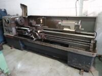 MASCOT 1600 GAP BED CENTRE LATHE 80 INCH CENTRES VIDEO FOOTAGE AVAILABLE