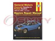Pontiac Repair Manual