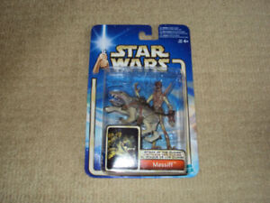 STAR WARS ATTACK OF THE CLONES, MASSIFF, ACTION FIGURE NEAR MINT