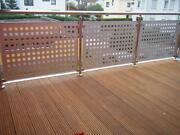 Lochblech Balkon
