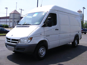 Dodge sprinter 2004 parting out