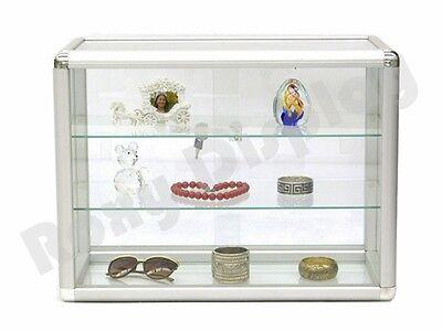 Standard Aluminum Framing Glass Countertop Display Case Store Fixture Kdtop-sc
