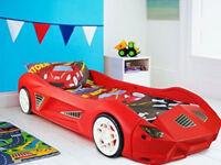 Kids bed-racing car -Ferrari. su
