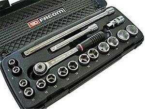 Facom-J-4APB-3-8-034-Drive-8mm-22mm-6-Point-Metric-Socket-set