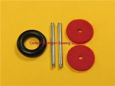 SINGER SEWING MACHINE SPOOL PIN KIT FITS MODELS 27 28 66 99 15 15-91 15-88 15-90