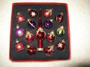 Purple Christmas Ornaments