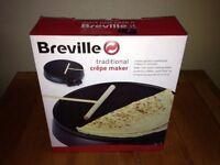 Breville crepe maker - barley used