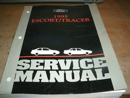 1995 FORD ESCORT MERCURY TRACER FACTORY FORD SHOP SERVICE MANUAL COMPLETE