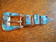 Sterling Ranger Belt Buckle