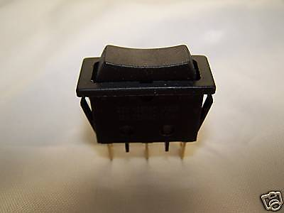 Rocker Switch - On Off On - Snap In - Brand New