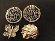 Antique Shoe Clips