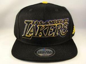 super popular f65dd be366 adidas Lakers Hat