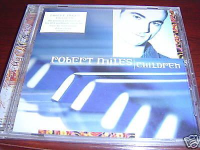 ROBERT MILES CHILDREN remixes CD Sealed 4 Trk