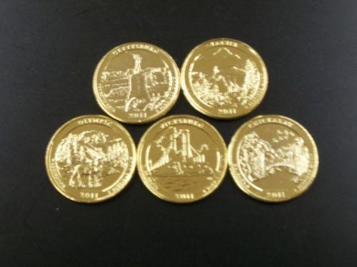 24k Gold State Quarters Ebay
