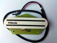 DiMarzio Fast Track T DP381 humbucker bridge pickup in white for tele and strat guitars