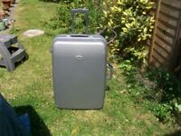 Large travel Suitcase with e 2 Wheels