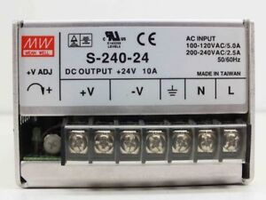 24V DC 10A power supply