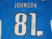 Calvin Johnson Signed Jersey
