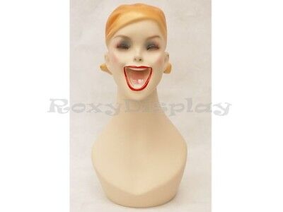 Mannequin Head Bust Wig Hat Jewelry Display MD-Y5G
