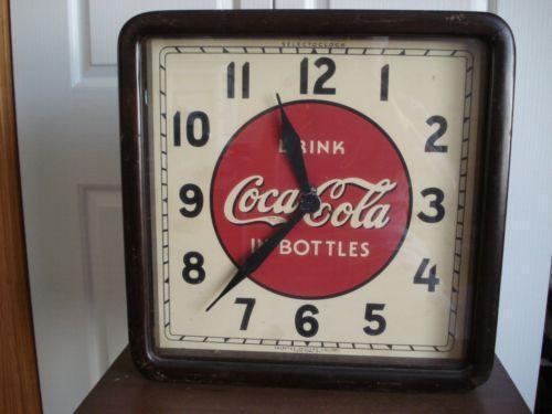 Vintage Soda Clock Ebay