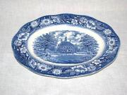 Staffordshire Liberty Blue Platter