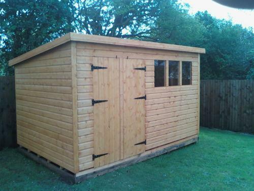 Pent roof shed ebay for Shed roofs
