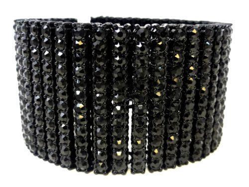 Mens Black Diamond Bracelet Ebay