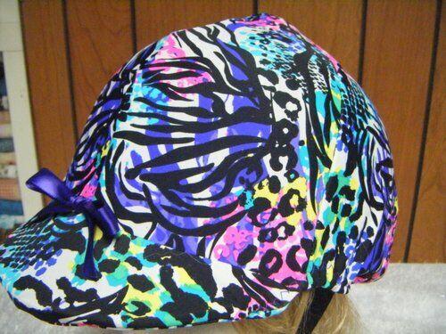Hunt English Helmet Cover CoversMulti Color Leopard/Zepra Type Print