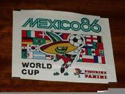 Panini World Cup 1986