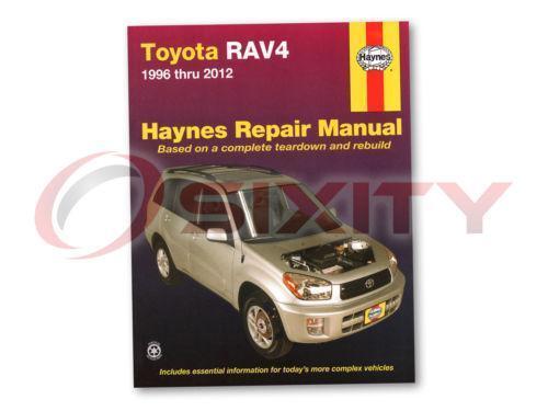 Toyota Rav4 Repair manual free download windows