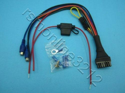 bazooka tube wiring harness bazooka harness: vehicle electronics & gps | ebay bazooka speaker wiring harness