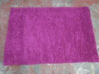 CHEZ-TOI PURPLE RUG - 160 x 230 Cm - ONLY £30 !!!WOW!!!!