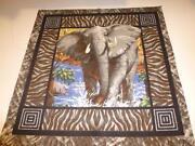 Elephant Print Fabric