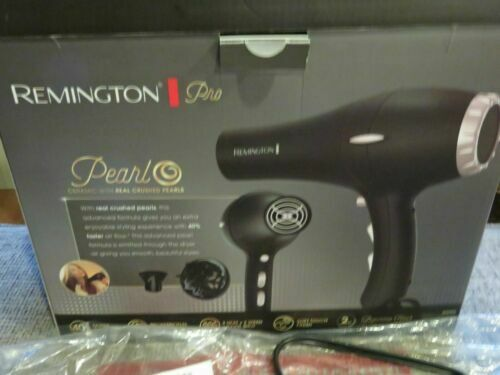 Remington Pro Hair Dryer with Pearl Ceramic Technology, Blac