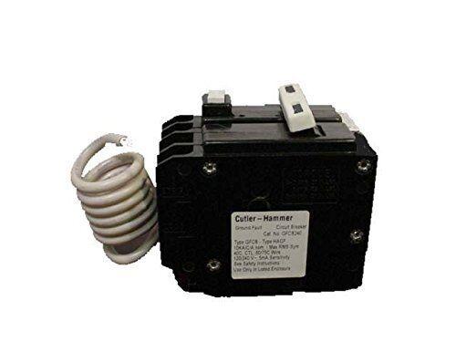 Cutler Hammer GFTCB240 40 Amp 2 Pole GFCI Circuit Breaker Plug-In