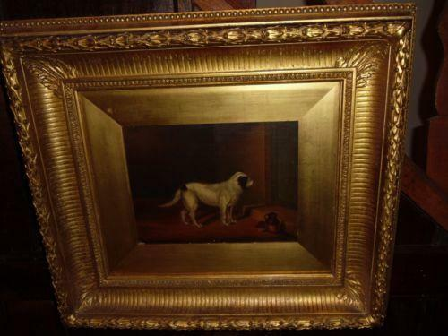 Dog Oil Painting Ebay