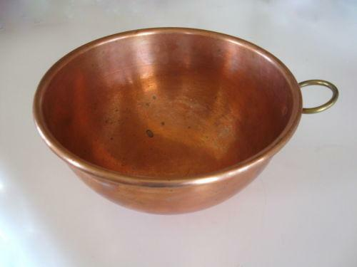 Vintage Copper Bowl Ebay