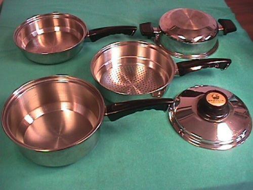 Kitchen craft cookware ebay for Kitchen craft waterless cookware