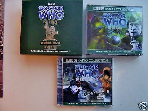 Doctor Who The Yeti Attack ! Limited CD Audio Set  Patrick Troughton