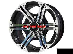 "ATV RIMS 12"" set of four BD H-SERIES at ATV TIRE RACK"