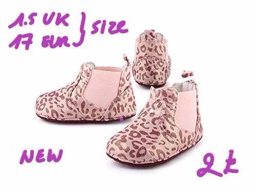 cartoonimals baby pram shoes size 1.5 uk 17 eur