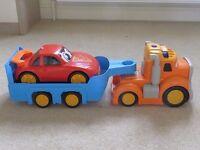 Child's Lorry, Trailer & Car
