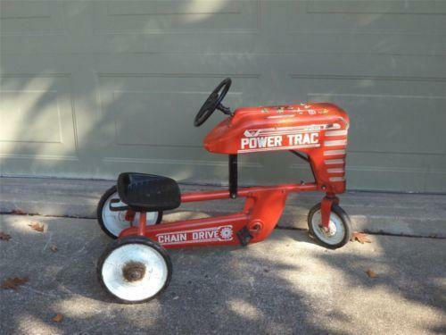 Tractor Pedal Car Parts : Amf pedal tractor ebay