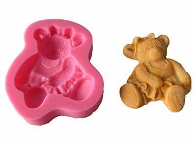 Silikonform Teddy Bär Bear Fondant Tortendekor Backform Kuchen Backzubehör Neu (Teddy Bär Form)