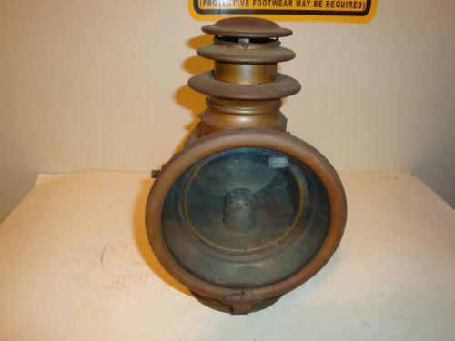 Antique Brass Car Headlights : Vintage brass headlight ebay