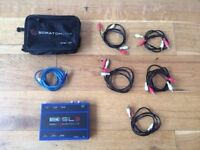 Rane Serato SL3 with 5 wires for recording live and case.